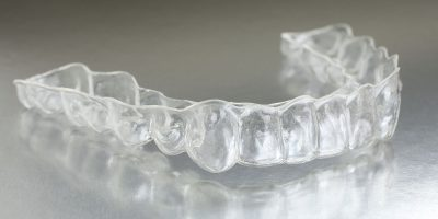 small clear mouth guard